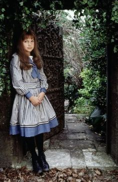 """Kate Maberly as Mary Lennox in """"The Secret Garden"""" (1993)  I would wear that dress."""