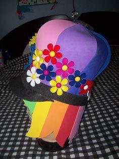 Foam hats - look for hat patterns