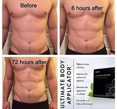 YES MEN WRAP TOO!! Results from using 1 Ultimate Body Applicators from It Works! A box of 4 wraps is just $59 as a Loyal Customer. For more info or to order visit our website: http://www.theultimatecrazywrap.com/ultimate-body-applicator.html