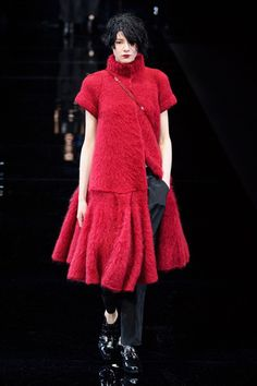 Emporio Armani at Milan Fashion Week Fall 2015 - Runway Photos