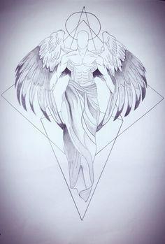 Tatoo Anjo Celestial