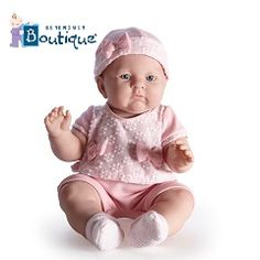 #MuñecasBebes #Berenguer #dolls - La nueva muñeca Lily de Berenguer no te la puedes perder, la muñeca bebé más regordeta que puedes encontrar. PVP: 39.95€