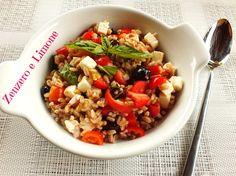 insalata di farro | Summer farro salad | Calling all conscious foodies @ foodiehaven.com