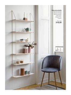 New Interior Collection by Søstrene Grene. Available in stores from 2 March See all… Wall Shelves, Shelving, Shelf, Ikea, Room Planning, Deco Design, Shop Interiors, Room Accessories, Decor Room