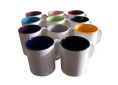Beautiful Personalized Inner Colour Photo Mug (Microwave Resistant)