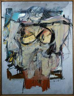 "de Kooning, ""Woman-Ochre"" in 1955/1958"