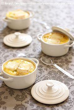 Cocottine sedano rapa, lattuga, porro & brie