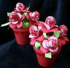 Lollipop Flower Bouquets