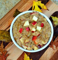 Maple Walnut Steel Cut Oats - perfect for cold Winter mornings.