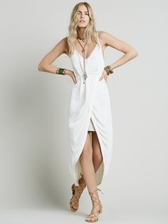Free People Summer Lady Solid Dress, $148.00