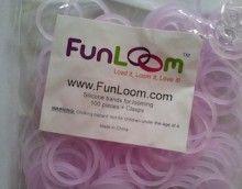 Glow In The Dark Purple FunLoom Rubber Bands