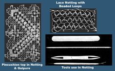 Iva Rose Vintage Reproductions - Needlecraft Practical Journal #32 c.1903 - Netting Net Making, Lace Making, Drawn Thread, Thread Work, Teneriffe, Darning, Sewing Techniques, Embroidery Stitches, Angles