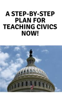 A Step-by-Step Plan for Teaching Civics Now! Proud Mom, In High School, Social Studies, Homeschooling, Classroom Ideas, Teaching, How To Plan, This Or That Questions, History