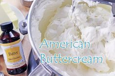 crusting buttercream The best vegan buttercream recipe uses a blend of vegan butter & hi ratio shortening. The closest version to the buttercream I used when I owned my bakery. Crusting Buttercream, Best Buttercream, Vegan Sweets, Vegan Desserts, Vegan Recipes, Vegan Meals, Sweet Recipes, American Buttercream Recipe, Butter Bakery