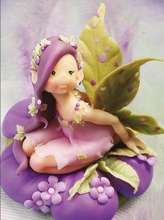 Hada. Magia en el bosque - Porcelana Fría