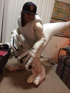 Fans' Velociraptor Costumes Bring Dinosaurs to Life in honor of Jurassic World…