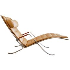 1stdibs   Fabricius and Kastholm Grasshopper Chaise Lounge