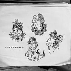The nursing mermaid one! Mutterschaft Tattoos, Mama Tattoos, Neue Tattoos, Body Art Tattoos, Girl Tattoos, Tatoos, Mom Baby Tattoo, Tattoo For Son, Tattoos For Kids