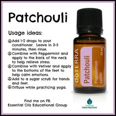 Tips And Strategies For Patchouli Essential Oil blends skin care Essential Oils For Nausea, Ginger Essential Oil, Essential Oils Guide, Essential Oil Uses, Natural Essential Oils, Lemongrass Essential Oil, Patchouli Oil, Patchouli Essential Oil, Essential Oil Diffuser