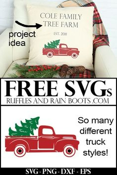 Christmas Cut Files Get these Christmas gift project-ready free SVG files for free and start your holiday crafting. So many on this site!Get these Christmas gift project-ready free SVG files for free and start your holiday crafting. So many on this site! Cricut Christmas Ideas, Merry Christmas, Christmas Vinyl, Christmas Truck, Christmas Printables, Christmas Projects, Holiday Crafts, Christmas Decorations, Christmas Ornaments