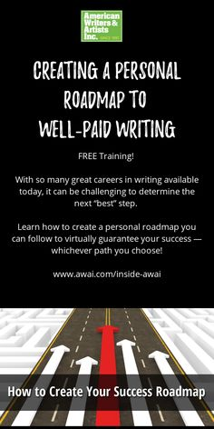 """With so many great careers in writing available today, it can be challenging to determine the next """"best"""" step. Learn how to set up your very own roadmap! In Writing, Writing Tips, How To Become, How To Get, Free Training, Copywriting, Need To Know, The Fosters, Writer"""