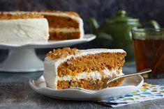 ...konyhán innen - kerten túl...: Répatorta Health Diet, Tiramisu, Cake Recipes, Caramel, French Toast, Cheesecake, Muffin, Food And Drink, Pie