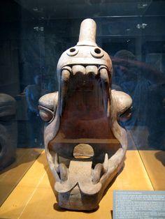 Olmec head sculpture