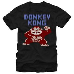(New Tshirt Great) Press Start  Coupon Today  A pixelated Donkey Kong stomps and rages atop the Nintendo Donkey Kong Arcade Black T-Shirt. This awesome Nintendo graphic tee will take you back to the days of classic arcade games with its pixelated graphics and Donkey Kong above.  Tshirt Guys Lady Hodie  SHARE and Get Discount Today Order now before we SELL OUT Today  Camping express things that could happen tshirt gift funny iphone6 today #pinterest #tshirt #discounttshirt #tshirtdesign…
