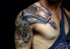 armor tattoo ideas