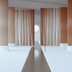 global illumination Spa Design, Interior Concept, Interior Design, Interior Inspiration, Design Inspiration, 3d Architecture, Space Interiors, Co Working, White Mansion