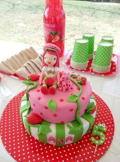 Strawberry shortcake cake  tarta de FRESITA