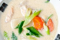 This rich, velvety soup is reminiscent of a New England clam chowder ...