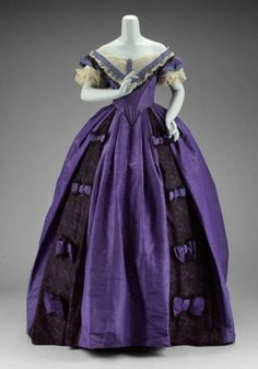 Ball Gown | c. 1860s by lois