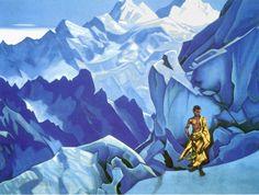 Николай Рерих.    Сосуд нерасплесканный.    Nicholas Roerich.    Unspilled Chalice.