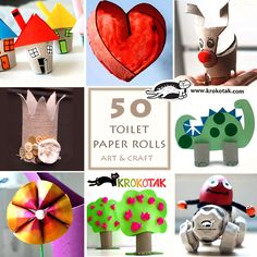 tolet paper roll art and craft