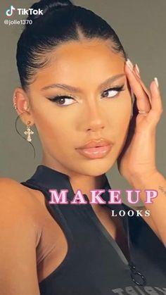 Makeup Inspo, Makeup Art, Makeup Inspiration, Hair Makeup, Work Makeup Looks, Pretty Makeup Looks, Learn Makeup, Makeup Makeover, Makeup Quotes