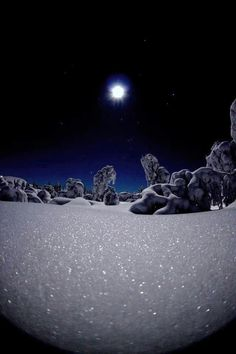 Glitter snow