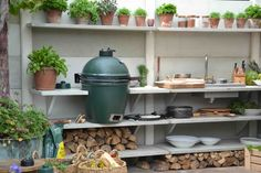 big green egg op terras - Google zoeken