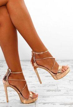 Gold Heels, Lace Up Heels, Pumps Heels, Stiletto Heels, Heeled Sandals, Stilettos, Flats, Cute Shoes, Women's Shoes
