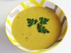 Lentil soup with ginger/Supă cremă de linte cu ghimbir