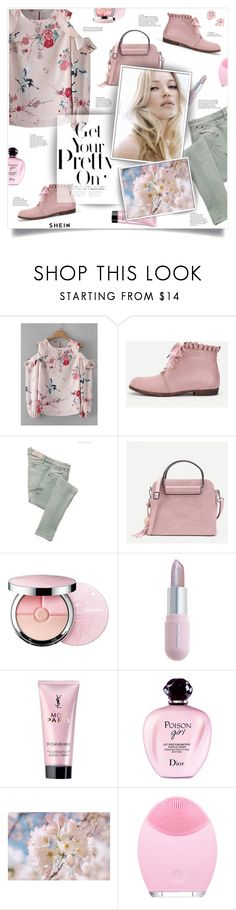 """spring is coming..."" by smajlovicelvira ❤ liked on Polyvore featuring Victoria Beckham, Guerlain, Winky Lux, Valisere, Yves Saint Laurent, Christian Dior and Irene Neuwirth"