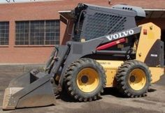 Volvo MC110B Skid Steer Loader Service Parts Manual