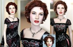 Noel+Cruz+Before+and+After | They're SO realistic! Artist repaints bog-standard dolls Kate Winslet - Titanic