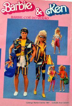 Ana Caldatto : Chegada do Boneco Ken / Bob ao Brasil 1984
