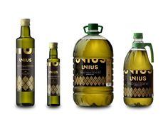 Unius Extra Virgin Olive Oil  Designed by #pagadisseny