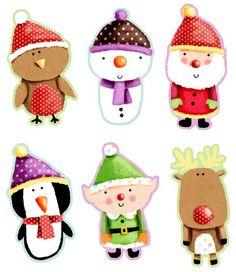 Personnages Noël
