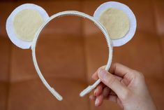 Cute costume mouse ears. Photograph by Pohian Khouw. #costume #mouse