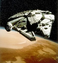 Millenium Falcon. The mother of all spacecraft is actually a 2nd freighter.
