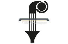 """«F is """"F""""or music» de TIERRAdesigner laptop skin"""