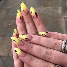 Nail Art Designs For Spring and Summer 2019 Nageldesign, , Nail Art Designs For Spring and Summer 2019 nails. Colorful Nail Art, Cool Nail Art, Bright Summer Nails, Spring Nails, Nail Swag, Diy Nagellack, Aycrlic Nails, Nail Manicure, Glitter Nails
